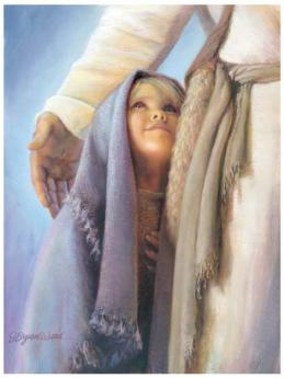Enfant garde par dieu