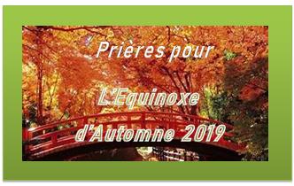 Equinoxe sept 2019