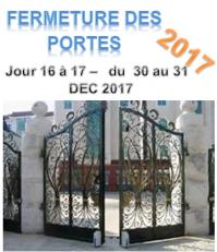 Fermeture des portes 2017 jours 16 et 17