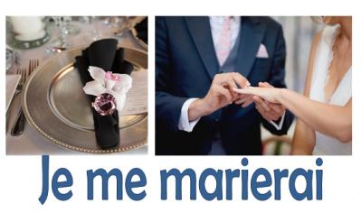 Je me marierai