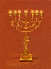 Lampe menorah