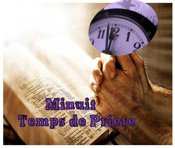 PRIERE DE MINUIT