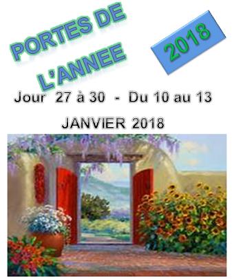 Portes 2018 du 10 au 13 jan