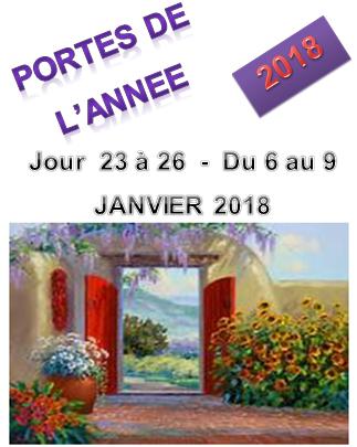 Portes 2018 du 6 au 9 jan