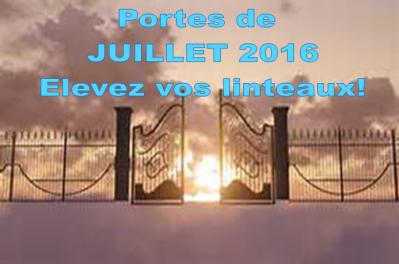 Portes de juillet 2016