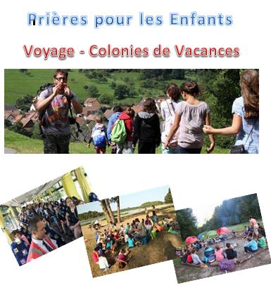 Prieres colonies vacances enfants