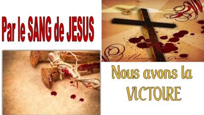 Sang de jesus victoire